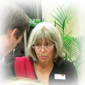 Agneta Pleijel på Bok- och Biblioteksmässan 2007.