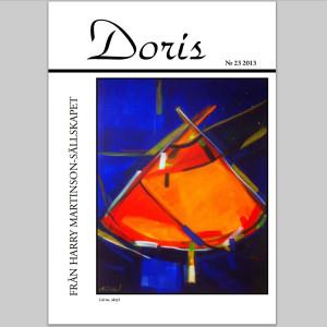 En bild av Ulrika Tapio Blind pryder omslaget på senaste numret av Doris. Ulrika är tillsammans med Inghilda Tapio årets Klockrikestipendiat.