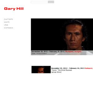 Gary Hills hemsida. Konstnären  kommer i sommar att skapa en sammansmältning av Beethovens Fidelio och Martinsons Aniara.
