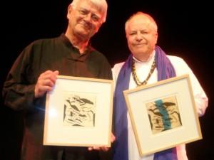 Gunnar Edander och Helge Skoog.