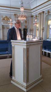Göran Bäckstrand, maj 2013. Foto: Rune Liljenrud.