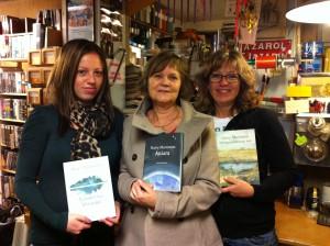 Författargruppen ARA som tog hem priset för bästa fågeldikt.