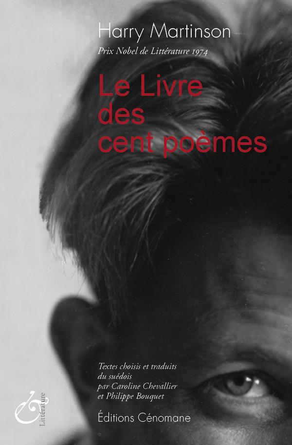 Anna Riwkins porträtt av Martinson har använts på ett innovativt sätt på den franska utgåvan av hundra dikter.