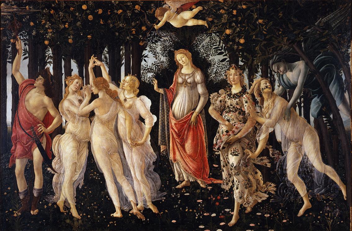 Botticelli-primavera minskad
