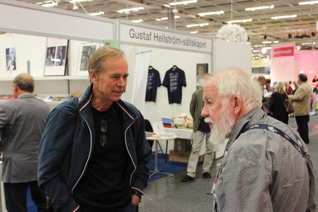 Björn Larsson och Johnny Karlsson. Foto: Ingemar Lönnbom.