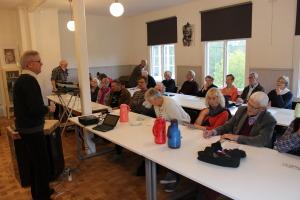 Åke Widfeldt hälsar välkommen till Nebbeboda akademi 4.