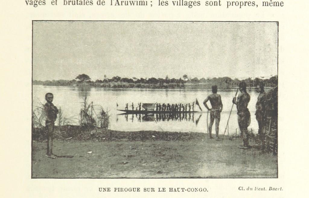 Europeisk beskrivning av Kongo från 1800-talet.