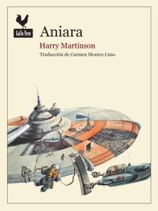 Omslaget till den spanska utgåvan av Aniara.
