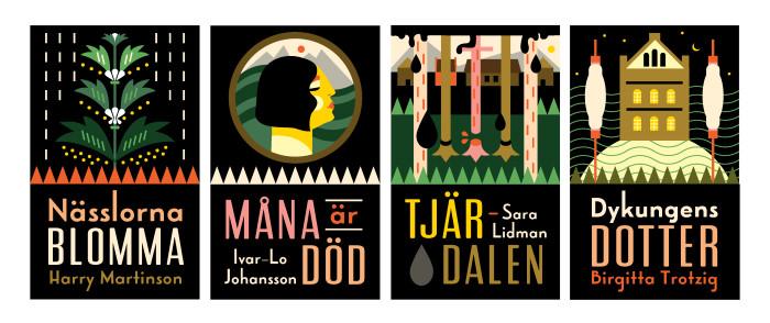 Nässlorna blomma är en av fyra svenska klassiska romaner som nu ges ut i ny upplaga.