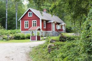 Alltidhults skola. Foto: Ingemar Lönnbom.