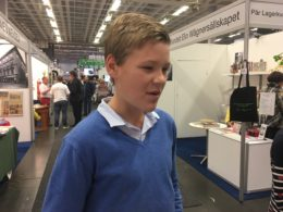 Adam Bergström, 14 år har läst hela Aniara.